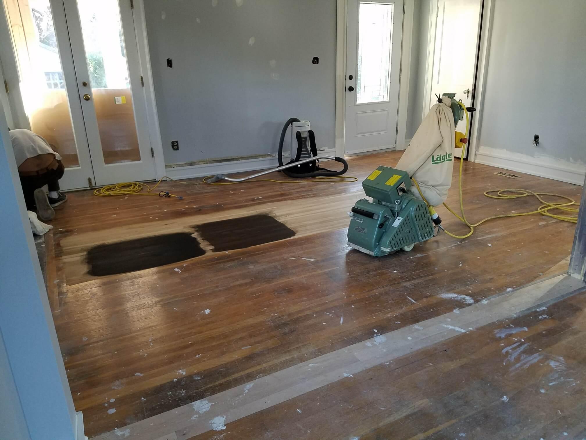 Hardwood Floor Refinishing Arlington VA insall