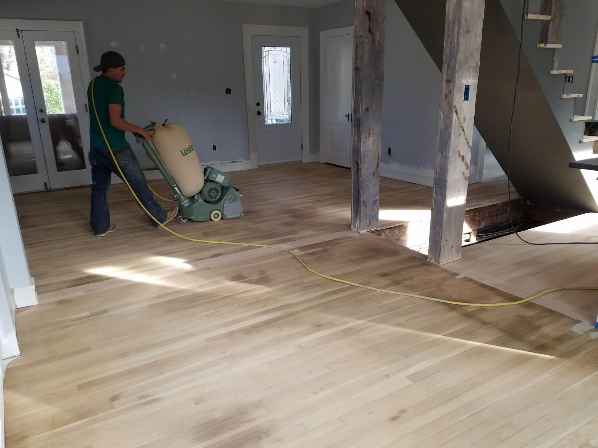 Hardwood Floor Refinishing Arlington VA sanding