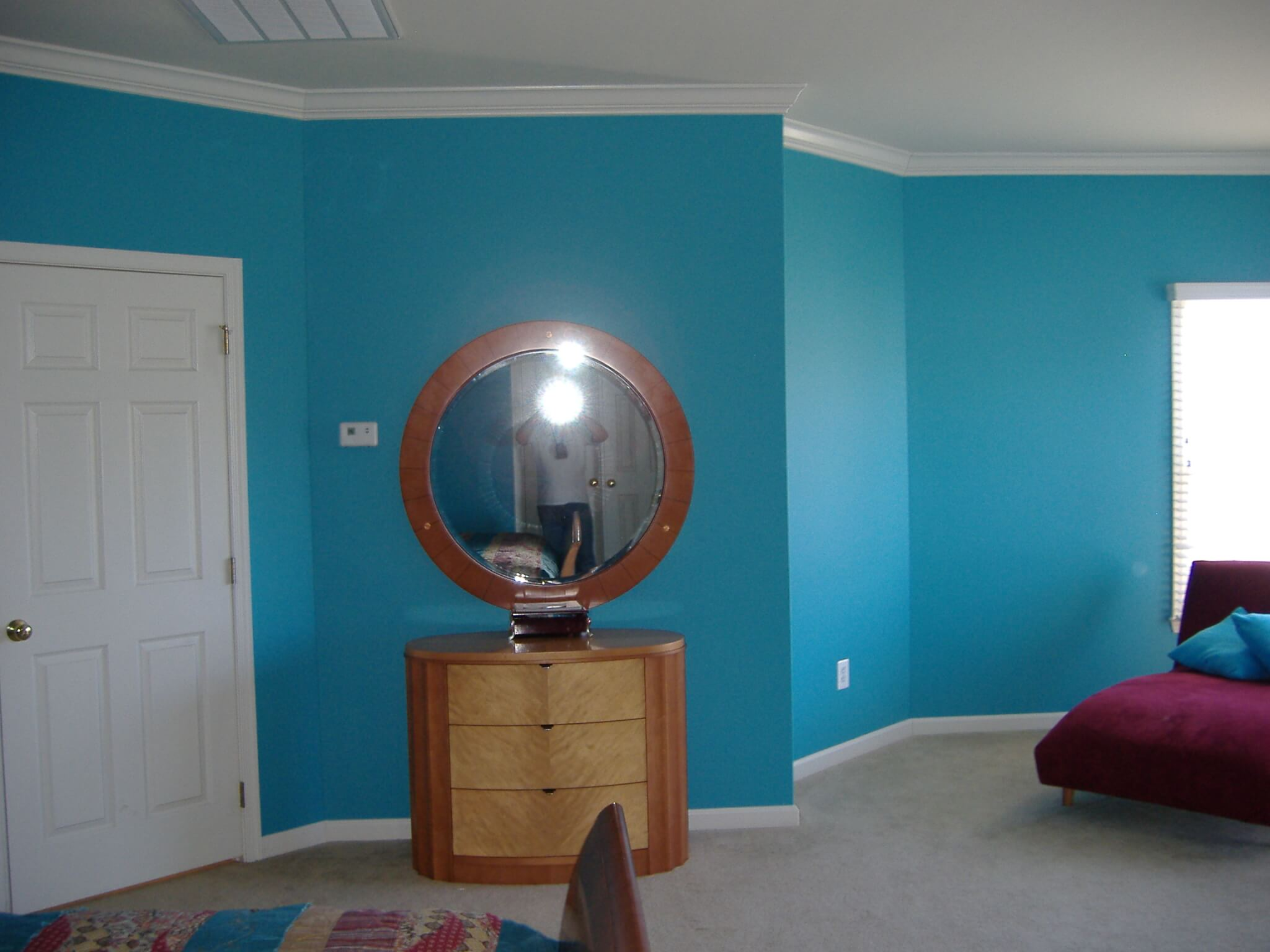 interior painting fairfax va blue